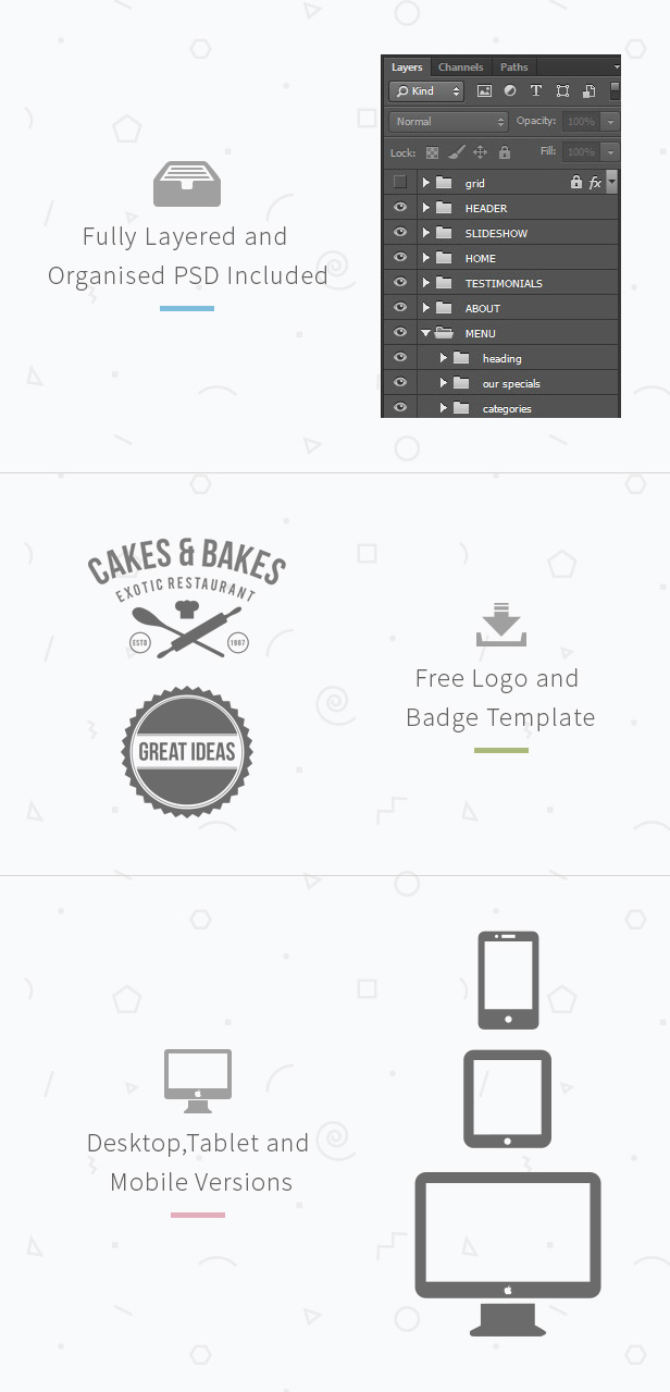 Cakes & Bakes - Muse Template